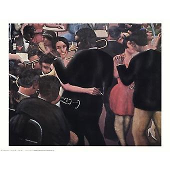 Blues 1929 Poster Print by Archibald John Motley Jr (28 x 22)
