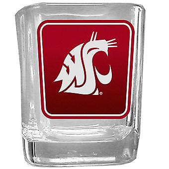 Washington State Cougars NCAA Logo Schnapsglas