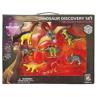 Zestaw 3D Puzzle dinozaur