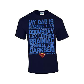Superman - Father, Man Of The Day T-Shirt