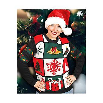 Trajes de los hombres suéter de Navidad Jingle Bells