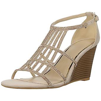 Athena Alexander Womens Hampton Suede Open Toe Special Occasion Platform Sandals