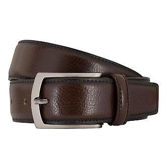 MIGUEL BELLIDO clasico belts men's belts leather belt Brown 7687