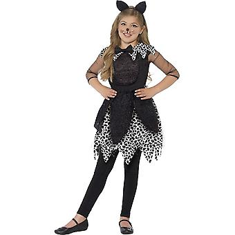 Deluxe Midnight Cat Costume, Small Age 4-6