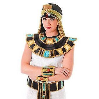 كليوباترا المصرية ذوي الياقات البيضاء.