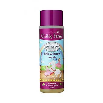 Childs Farm Hair & Body Wash Blackberry & Organic Apple