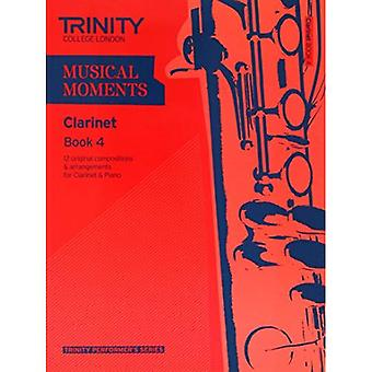 Musical Moments Clarinet Book 4