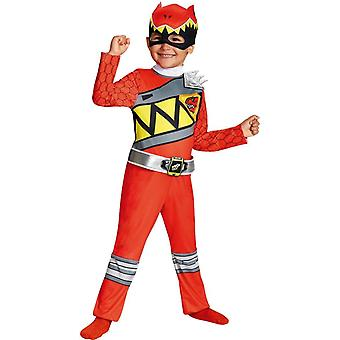 Rode Ranger Dino peuter kostuum