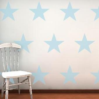 Large Stars 16 Wall Stickers