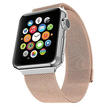 Stainless Steel replacement bracelet for Apple Watch Series 42/44mm – Rose gold