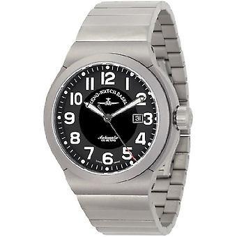 Zeno-watch mens watch RAID titanium automatic 6454-a1M