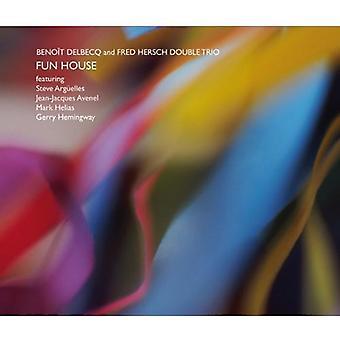 Benoit Delbecq & Fred Hersch - Fun House [CD] USA import