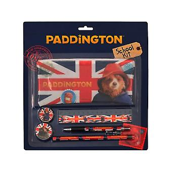 Paddington Bear school briefpapier set