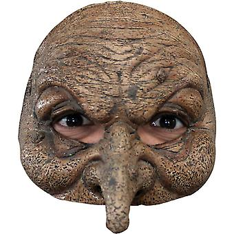 Wizard Latex Half Mask For Adults