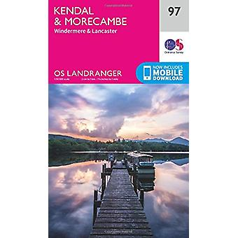 Kendal & Morecambe by Ordnance Survey - 9780319263402 Book