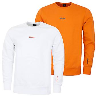Oakley Hombres Plutonite Crewneck Fleece Jumper Suéter acanalado