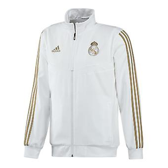 2019-2020 Real Madrid Adidas Presentation Jacket (White)