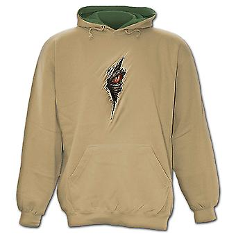 Spiral Direct Gothic DRAGON RIP - Hoody Tan|Dragon|Rips