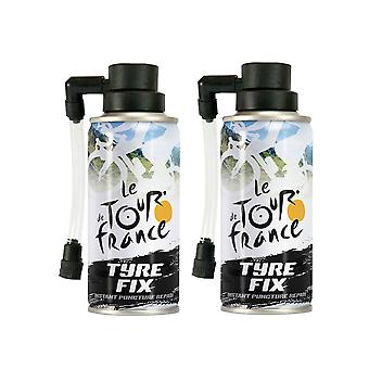Reparación instantánea de pinchazos 2 x 200ml - Le Tour de France TDF Bike Tyre kit de fijación