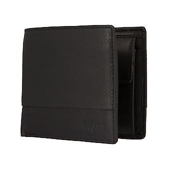 Bugatti ATLANTA mäns väska plånbok purse liggande format black 2471