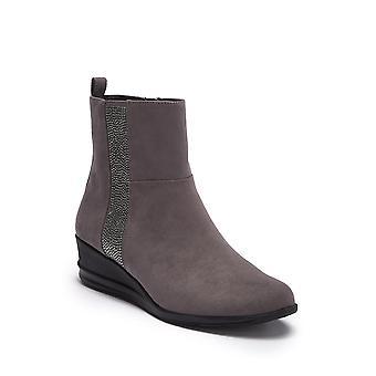 Anne Klein Womens Carlota Closed Toe Ankle Fashion Boots