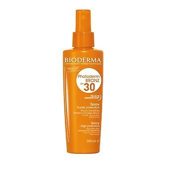 Bioderma Photoderm Bronz SPF30 hög skydds spray SPF30 200ml