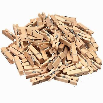 Wooden Clothespins-101 Pack