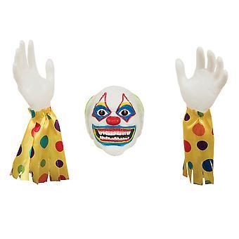 Bristol uutuus paha Clown Ground Breaker koriste luun