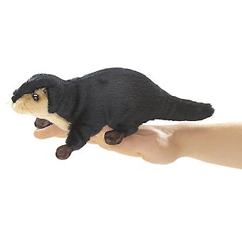 Finger Puppet - Folkmanis - Mini Otter River New Animals Soft Doll Plush Toys 2684