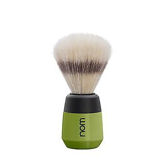 Nom Max Natural Bristle Shaving Brush - Olive