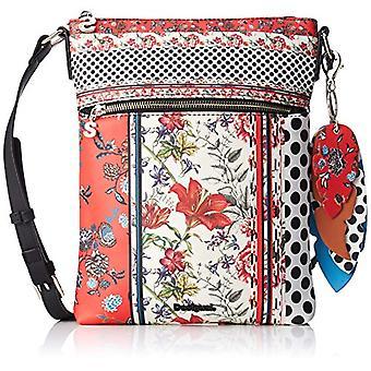 Desigual Bols_tripatch Ghana - Women Red Shoulder Bags (Carmin) 3x29x22.3 cm (B x H T)