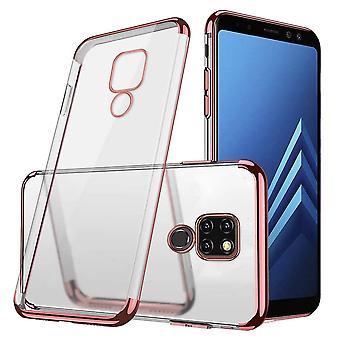 Case bagcover klar for Huawei Mate 20 rosa guld