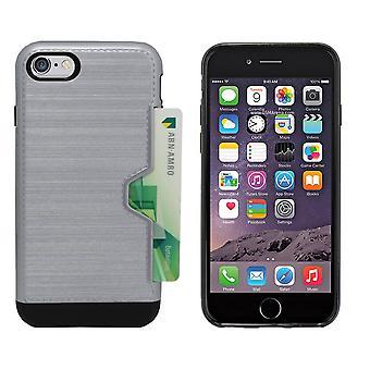 CardSkin für Apple iPhone SE 2020 - 8 - 7 Grau