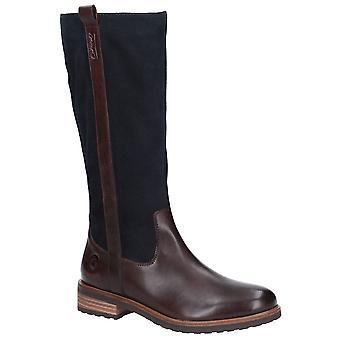كوتسوولد المرأة أمبني طويلة الرمز البريدي حتى أحذية جلدية جلد سويدي
