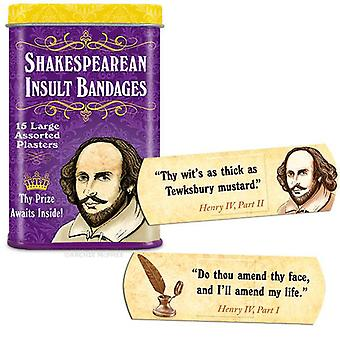 Character Goods - Archie McPhee - Bandage - Shakespearean Insult 12389