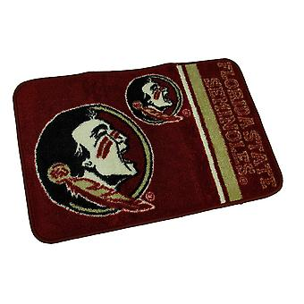 Officially Licensed Florida State Seminoles Non-Skid Throw Rug 20 x 30 inch