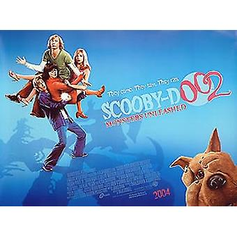 Scooby Doo 2 Original Cinema Poster