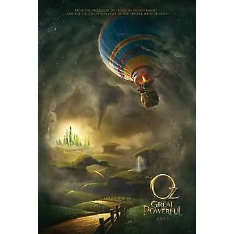 Oz The Great And Powerful Poster Double Sided Advance (2012) Original Cinema Poster