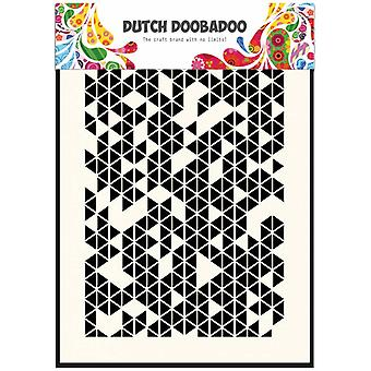 Dutch Doobadoo A5 Mask Art Stencil - Triangles 470.715.120