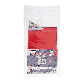 Marbet MB123.016 | Tissu de réparation | Fer-sur | 16 x 10cm | Rouge