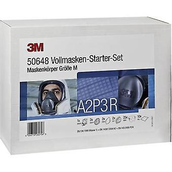 3M DE272919916 respirator ansiktsmasker set A2P3R