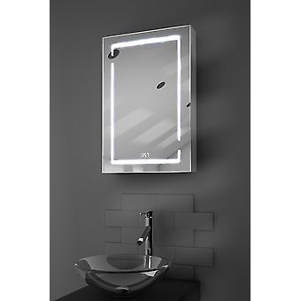 Filia LED Audio Bathroom Cabinet With Sensor, Shaver Socket k386aud