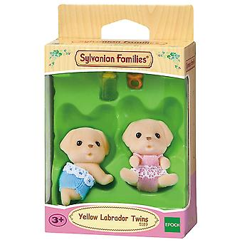 Sylvanian Rodziny - Yellow Labrador Twins Toy