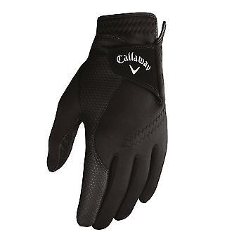 Callaway Golf mujeres 2019 agarre térmico Fleece forrado cuero palma guantes - par