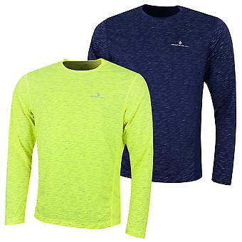 Ronhill Mens Momentum Afterlight LS T-Shirt