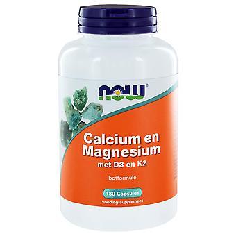 Calcium & Magnesium DK (180 Kapseln) - NOW Foods