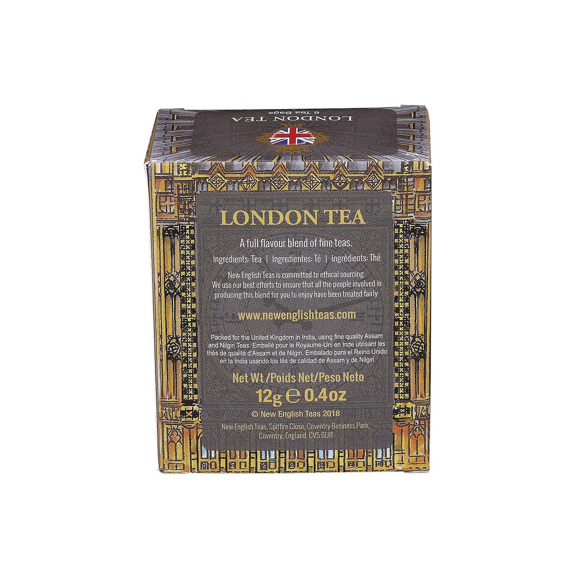 Big ben london tea 6 teabag carton