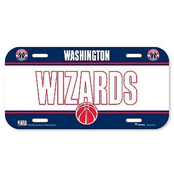 Fanatics NBA license plate - Washington Wizards