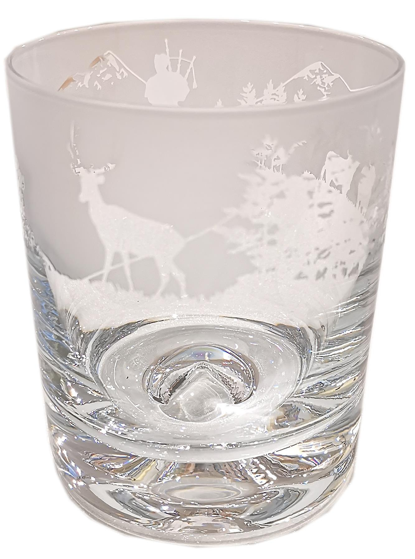 Animo Glass Crystal Whisky Tumbler 30cl - Scottish
