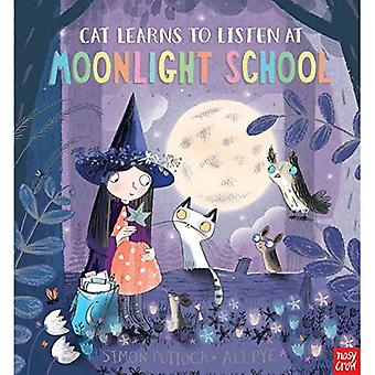 Cat Learns to Listen at Moonlight School